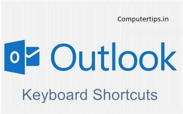 Microsoft Outlook Shortcut Keys