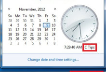 how-to-add-your-name-computer-taskbar