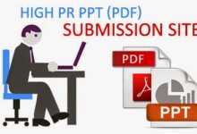 Top PDF Submission Website List with PR