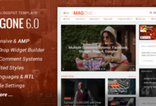 Free Download MagOne v6.2.6 Magazine Responsive Blogger Template