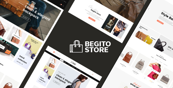 Free Download Begito Bag Store Responsive Opencart 3.x Theme