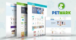 Free Download PetMark - Pet Care, Shop and Veterinary Magento 2 Theme