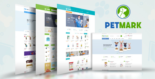 Free Download PetMark - Pet Care Shop and Veterinary Magento 2 Theme